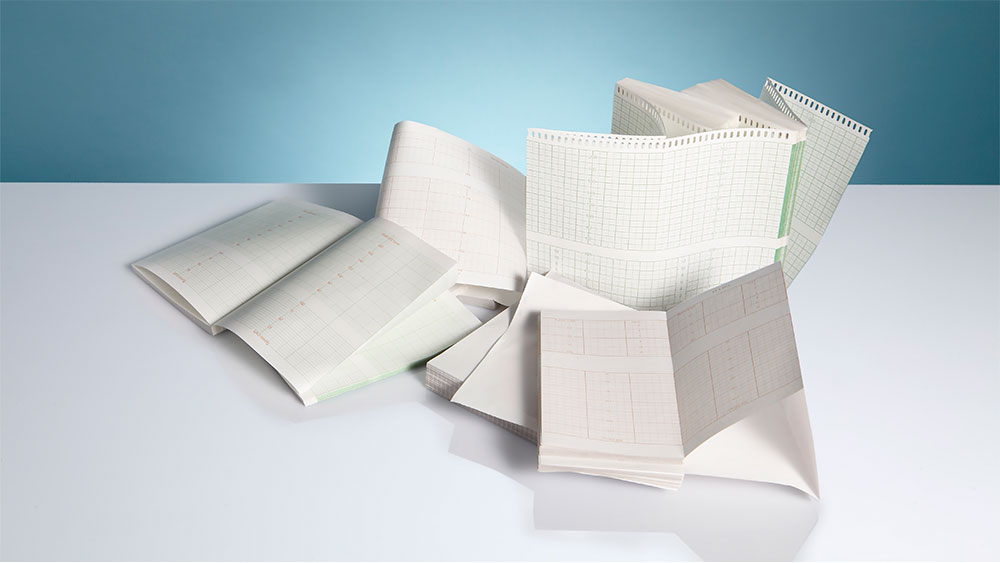 EUROPAPER Thermal Chart Paper Rolls and Z-Fold
