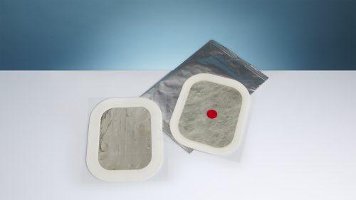 Piastre antiustione per defibrillazione
